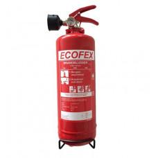 Ecofex 2l schuimblusser A,B,F branden vorstvrij tot -30