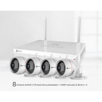 ezWireless KIT NVR + 4x Husky Air