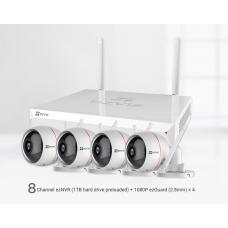 ezWireless KIT NVR + 4x Husky Air