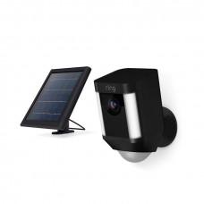 RING Spoltlight Cam Solar black